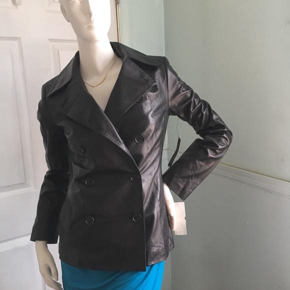 Elie Tahari Jackets & Blazers - $796 Elie Tahari Lambskin Leather Jacket SX